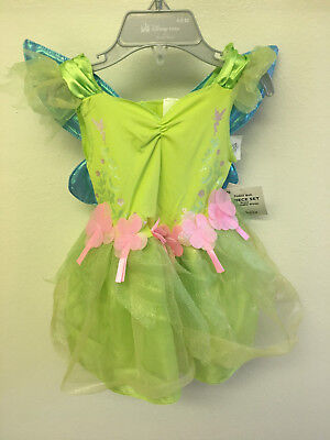 Disney Baby Tinker Bell Deluxe Infant Dress 6 Months to 12 Months NEW With Tags