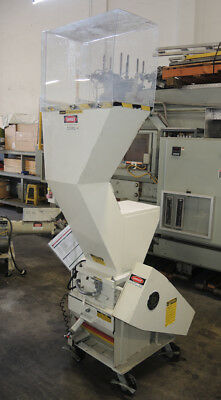Ball and Jewell MD-812-X Plastic Granulator, 5 HP Grinder - Tested Good