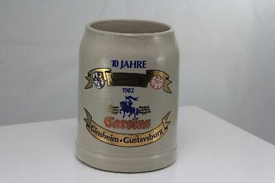 1982 BINDING CAROLUS - DOPPLEBOCK GERMAN BEER STEIN / .5L GERMANY - Ginsheim