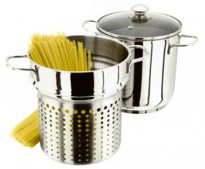 Judge Pasta Pot, Silver, 20 cm
