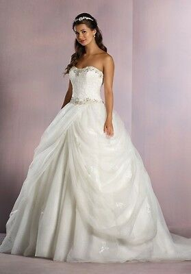 Disney collection Alfred Angelo Belle wedding dress