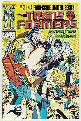 The Transformers #2 (of 4) Marvel Limited Series 1984 VF+/NM-