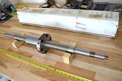"New SKF/TCM A6505 Precision Ground Ballscrew 2"" dia. x900mm - THK CNC Router DIY"