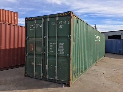 40' used HC Shipping Storage Container Houston, TX