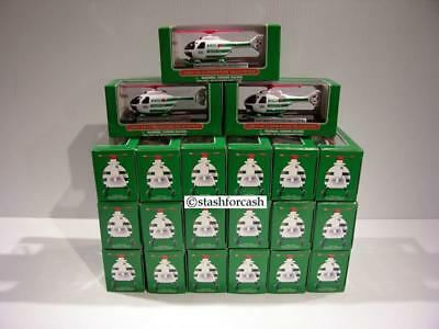 Set of 21 Hess Mini 2005 Helicopters - READ DETAILS!