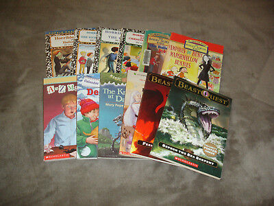 Lot Of 12 Children's Adventure/fun Chapter Books ~ Horrible Harry ~ Magic Tree