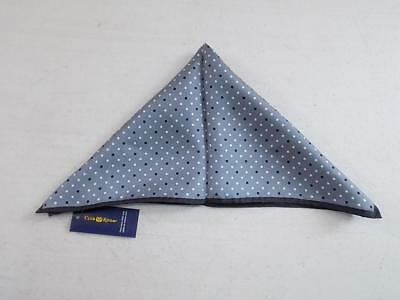 Club Room Men's Polka Dot Pocket Square Handkerchief 100% Silk NWT PS947