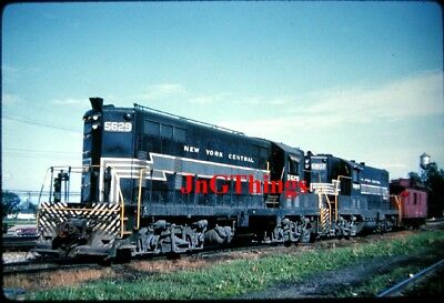 New York Central EMD GP7 #5629 and 5807  DUPLICATE SLIDE wic277