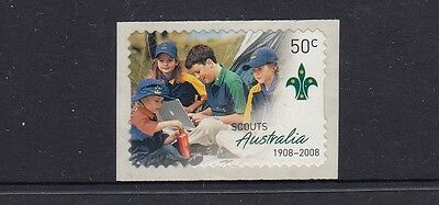 Australia 2008 Centenary of Scouting in Australia SA Stamp (2918a)