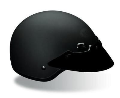 New 2018 Bell Shorty Helmet Motorcycle Road Open Face Classic Matte Black