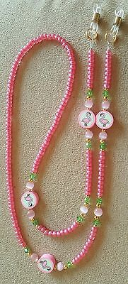 !!  Fancy  Flamingo  !!! Ieyeglass Chain  !!