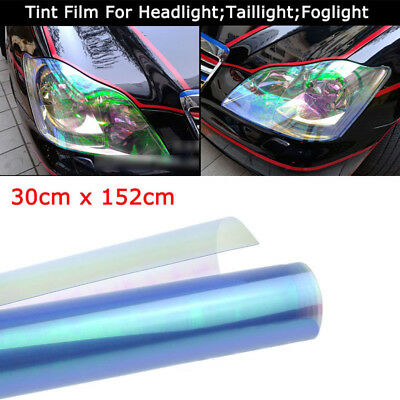 "12""x60"" Chameleon Neo Pearl Color Headlight Taillight Fog Light Tint Film Newest"