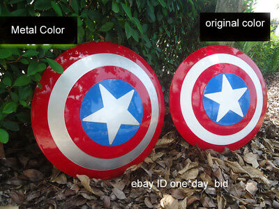 The Avengers Captain America ABS Shield Cosplay 1:1 Fast Shipping Two Color