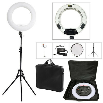 "48W18"" Dimmable LED Ring Light Photography Studio Lamp For Webcast Makeup Selfie"