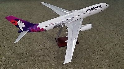 Gemini Jets HAWAIIAN AIRLINES Airbus A330 huge 1:100 scale NEW!