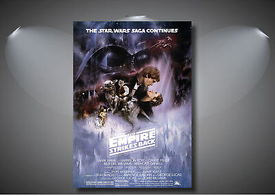 Star Wars The Empire Strikes Back Vintage Classic Movie Poster A0 A1 A2 A3 A4