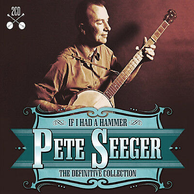 Pete Seeger - Definitive Collection - 2 CD SET - BRAND NEW SEALED greatest hits