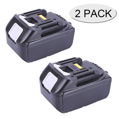 2-Pack 18V 5.0Ah Lithium ion Battery for Makita LXT BL1850 BL1840 BL1830 BL1815
