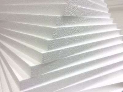 White Polystyrene Board (EPS) for External Wall Insulation 50mm