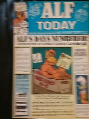 ALF #47 FN (Marvel Copper Age. Actual Images. Bullpen Bulletins. Stan's Soapbox.