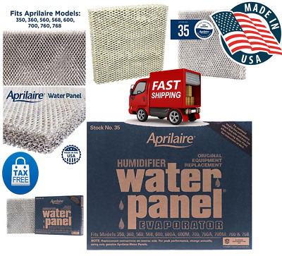 Aprilaire 35 Water Panel Humidifier Model 500 550 560 600 700 Filter Pad 2 Pack