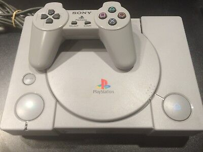 PlayStation 1 PS1 Console Original   Very Good Condition   Complete   PAL Aussie