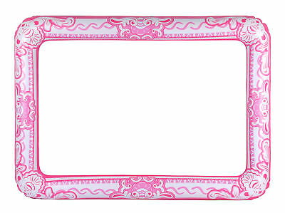 Inflatable Pink Photo Frame - Giant Photo Booth Prop Selfie Gift Blow Up Wedding