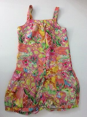 OILILY Girls Jumpsuit Playsuit Flower Age 10 Years Size 140 Flowers