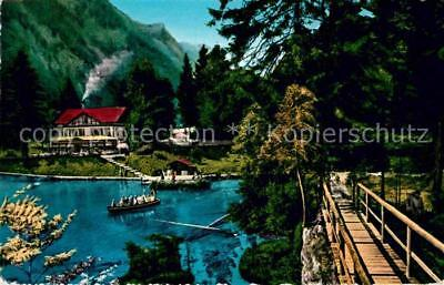 12822058 Blausee BE Seepartie Boote Blausee-Mitholz