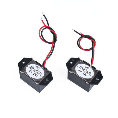 Low Voltage Buzzer Black 1.5V-3V VDC DC 70DB mechanical buzzer FU Durable 2017