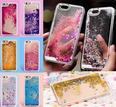 Dynamic Liquid Glitter Quicksand Hard Back Phone Case For iPhone 6s 7 Plus 8PLUS