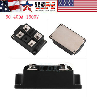 60A/100A/150A/200A/300A/400A Module Single Phase Diode Bridge Rectifier 1600V