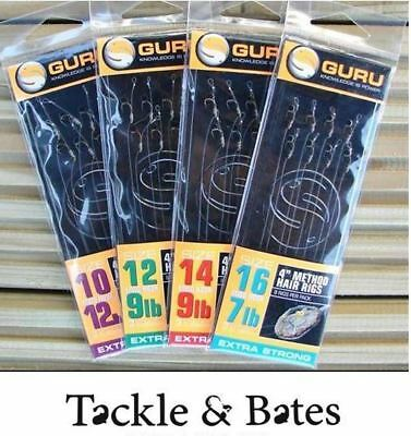 Guru 4'' Method Rigs All Sizes Match Coarse Feeder Fishing