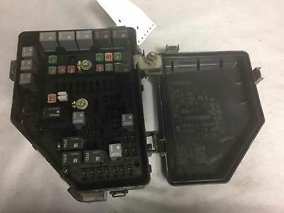 09 BUICK ENCLAVE Fuse Box Block Distribution Panel Control Unit ...
