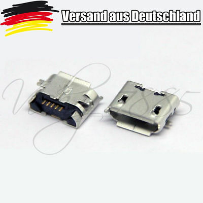 50 Stück Micro USB Type B Female 5-Pin SMT SMD Socket Jack Connector Port L0071