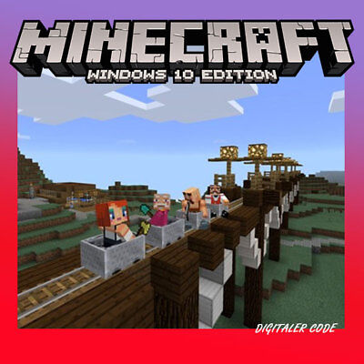 Minecraft Windows 10 Edition PC - Key Download Code AKTION