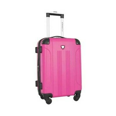 "Travelers Club Unisex  Chicago III 20"" Hardside Spinner Carry-On"