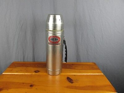 Vintage UNO-VAC Stainless Steel Thermos Meriden CT. dated 7/78 Union, MFG