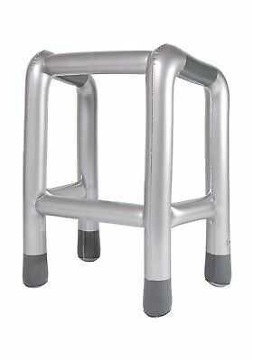 Inflatable Walking Stick Zimmer Frame Zimmerframe Novelty Party Blow Up