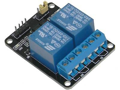 Dual SPDT Relay Board for Microcontrollers, Opto Isolated *32442 MP