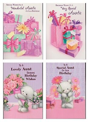 Aunt To A Special Aunt Birthday Card 1 39 Picclick Uk