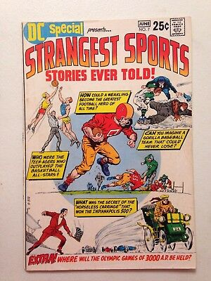 Strangest Sports Stories Ever Told DC Special #7 (June 1970) DC Comics