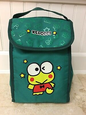 Sanrio Keroppi Lunch Bag With Strap Insulated RARE