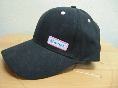 ARIAT - Contrast Cap - Black / Pink - ( 4-170 BLK/PNK ) - New with Tags