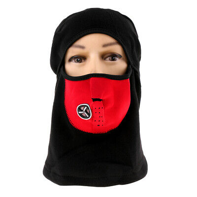 Windproof Winter Cycling Thermal Warm Face Mask Balaclava Neck Hood Cap