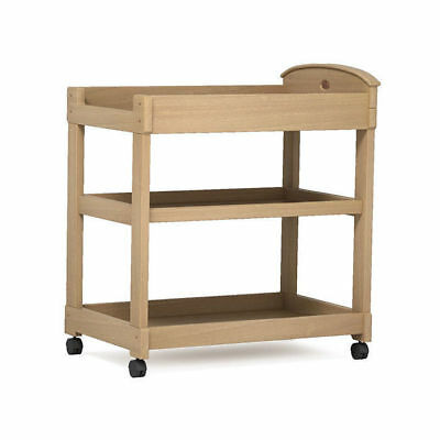 Boori Arched 3 Tier Nappy Changer Change Table Almond