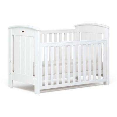 Boori Casa Baby Cot Toddler Bed White