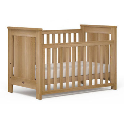 Boori Plaza Baby Cot Toddler Bed Almond