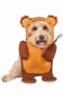 Running EWOK Dog Costume - L or XL - Frontal - STAR WARS - NWT
