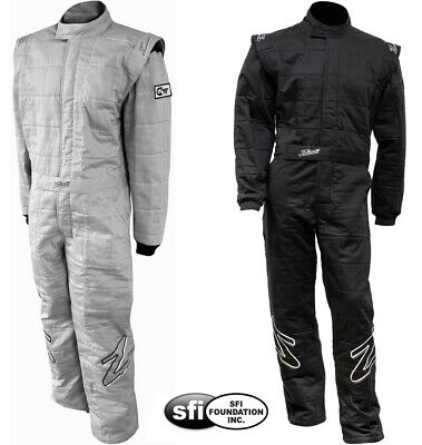 ZAMP - ZR-30 SFI-5 Auto Racing Suit - 1-Piece Nomex Style Fire SFI 3.2A/5 Rated